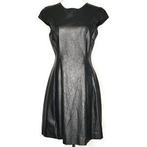 NEW WITH TAGS Armani Exchange Faux Leather Dress